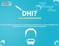 "DHI "" International hair transplant center"" Animation"