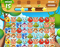 Candy Jungle Mania Mobile Game