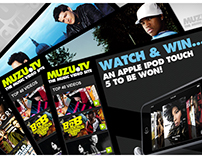 MUZU.TV Channel Branding and Media Campaigns