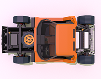 LowPoly Cars