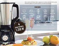 Promo robot de cocina