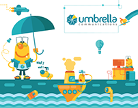 Umbrella's art direction branding project