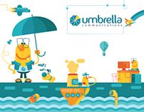 Umbrella's art direction branding project