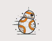 BB 8 Droid StarWars