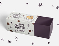 Design development for packaging cookies