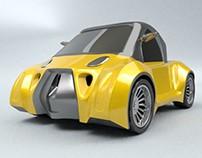 Smart Pkachu concept vehicle WIP