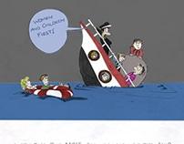 Titanic Cartooning