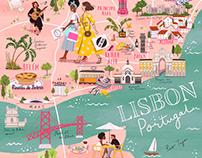A Map of Lisbon