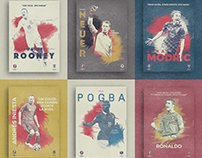 UEFA EURO 2016 Retro Poster Collection