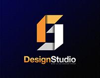 Personal portfolio v4 logo design
