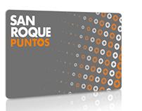 Tarjeta de puntos San Roque - Diseño