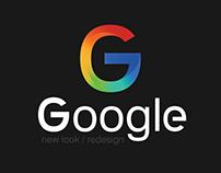 Google Redesign ......
