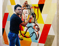 Assignment work on ganesha chathurthi