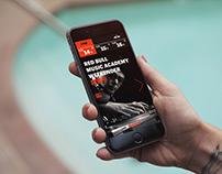 Red Bull Music academy website