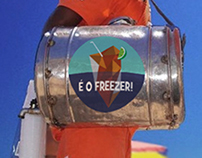 É o Freezer! - Logo design