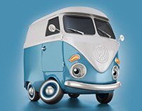 VW Copava Mascot