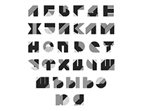 """Development of the font """"Texture in a manner"""""""