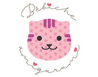 Bébiche amigurumi logo