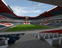 Proyecto Conceptual Estadio U. de Chile - Chile, 2013