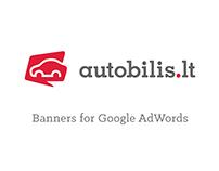 Autobilis.lt banners