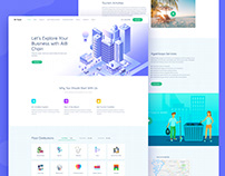 Space Sale || Landing Page