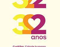 Curitiba 322 years seal