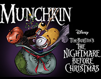 Tim Burton's Nightmare Before Christmas Munchkin