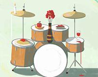 Dinner concert - poster