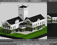 lowpoly building collection