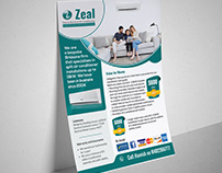 Air Condition Company Flyer Design