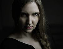"""Don't make me Angry"" - Olga Portraits"