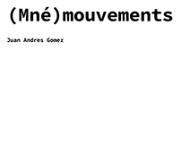 (Mné)mouvements