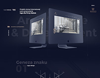 Maksis / Architecture&Development web and logo design