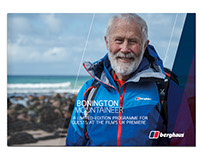 Berghaus 'Bonington: Mountaineer' Programme