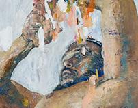 """""""Flood"""", oil on canvas"""