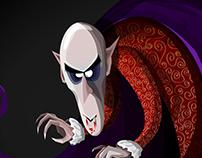 CharacterDesignChallenge #1 Vampire