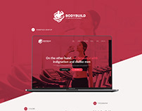 Gym, fitness - web design