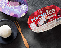 Kowloon Dairy - Mochi Ice Packaging