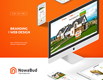 Brand and web design for property developer in Poland