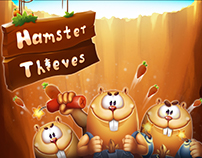 """Hamster Thieves"" Art and Animation"