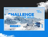 Man VS Wild | Redesign UX/UI