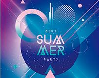 Electro Summer - Template