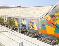 Facade of Dostyk Plaza