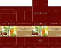 Cuisine Masters Sofia 4-Piece Glass Beverage Set 280ml