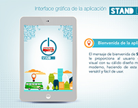 DISEÑO UI/UX y campaña publicitaria de APP 2015