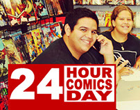 24 Hour Comic Day at TATE'S Comics