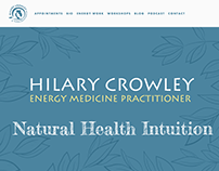 Hilary Crowley Natural Health Intuition Website