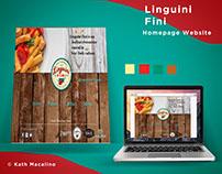 Linguini Fini - Homepage website