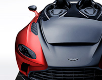 2020 Aston Martin V12 Speedster Black & Red
