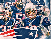 2015 New England Patriots Team Poster (24x36)